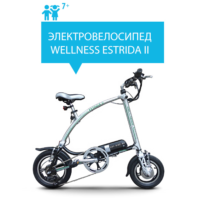 Электровелосипед WELLNESS ESTRIDA II