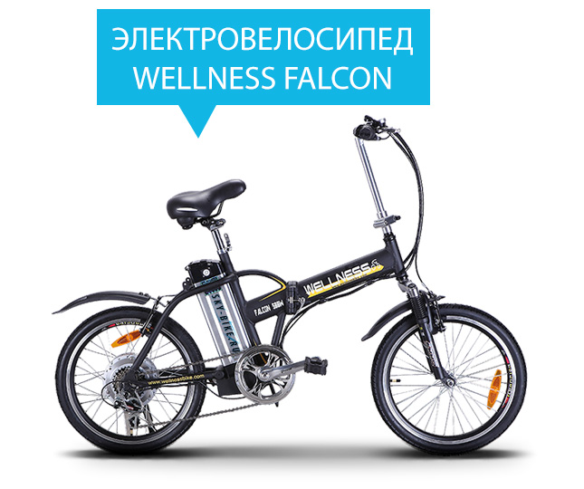 Электровелосипед WELLNESS FALCON